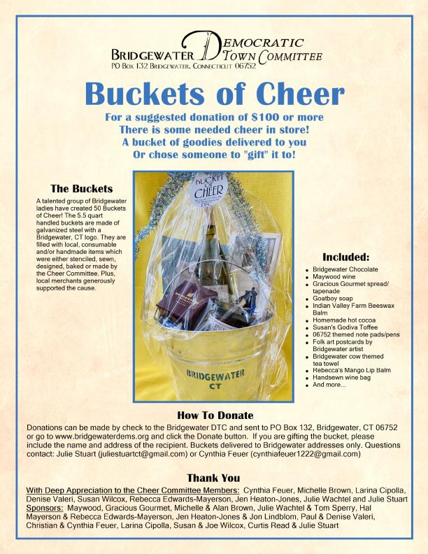 Cheer Bucket Flyer